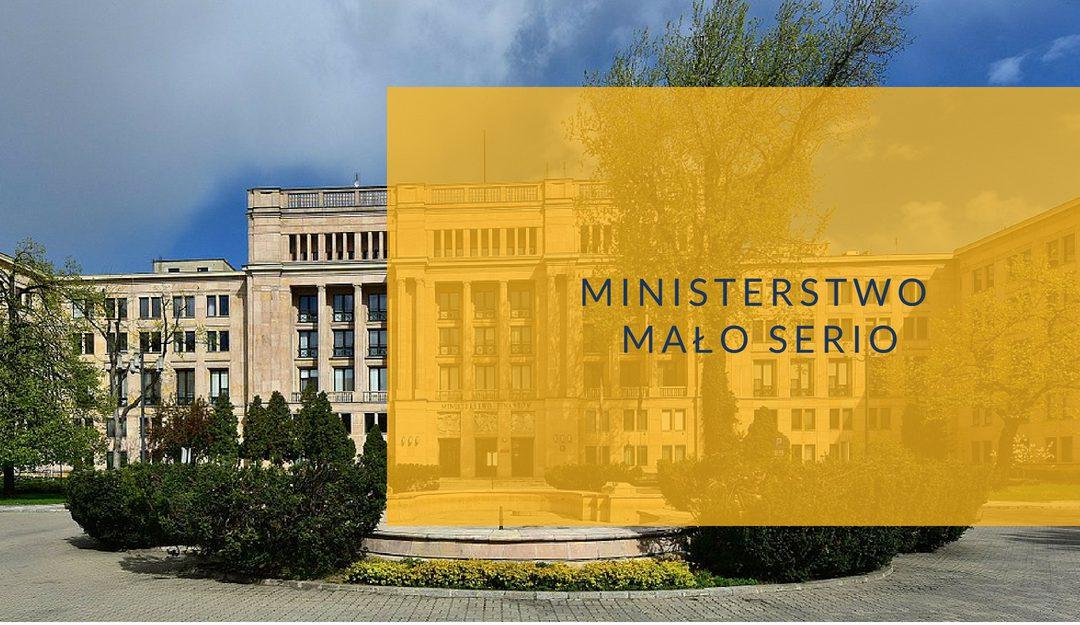Ministerstwo Finansów – Ministerstwo mało serio