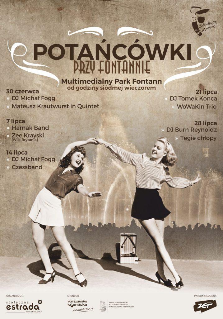 weekend 14 - 15 lipca w warszawie Potancowki