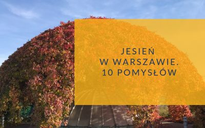 Jesień w Warszawie