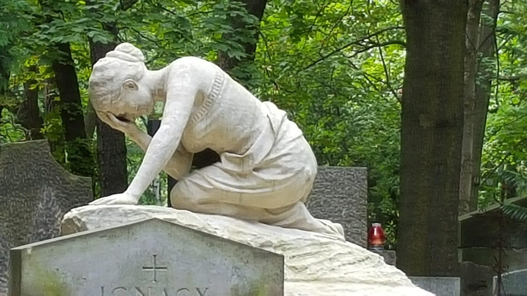 Jesień w Warszawie Hanka Warszawianka cmentarze