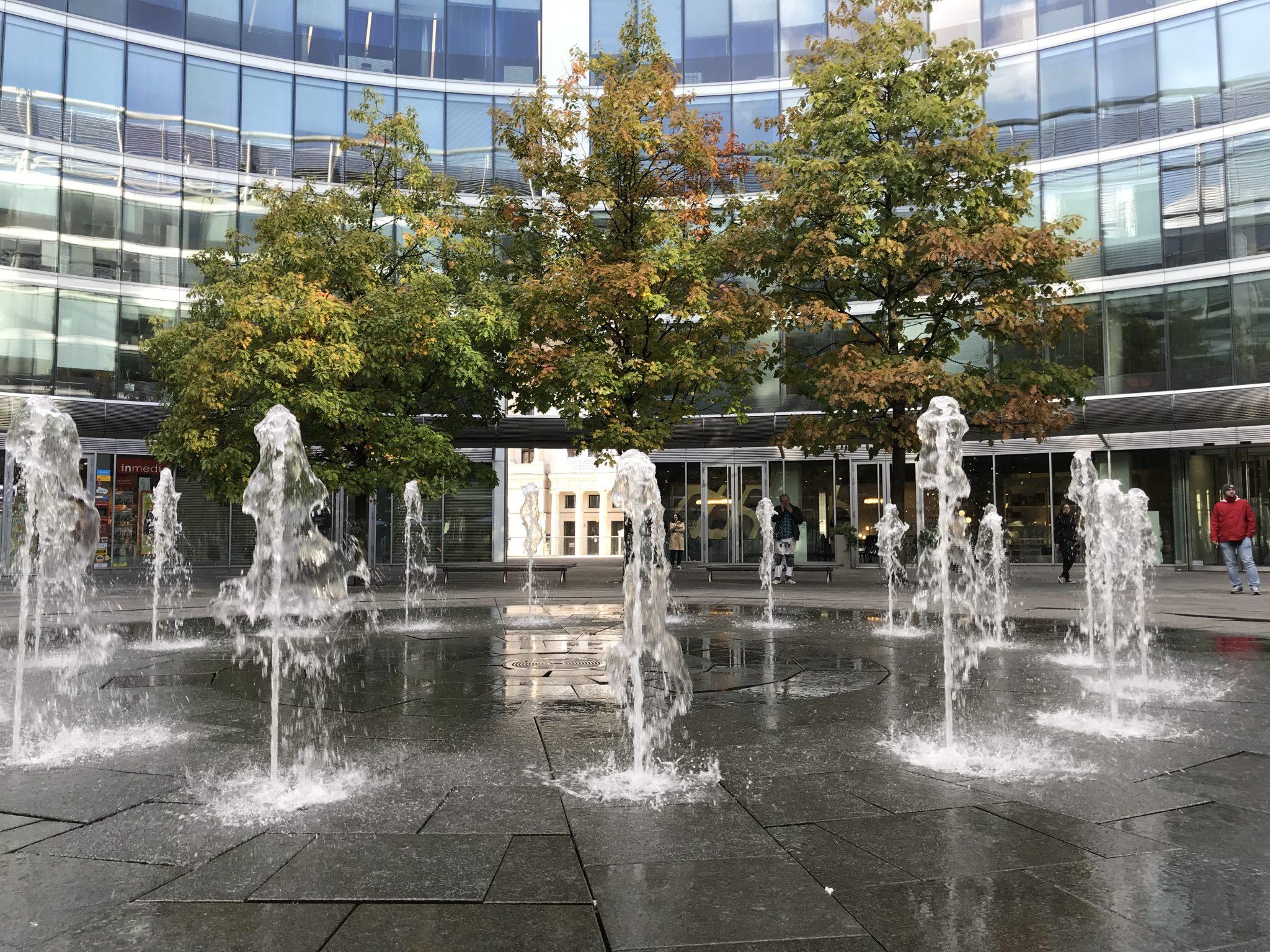 Jesień w Warszawie Hanka Warszawianka fontanny (1)