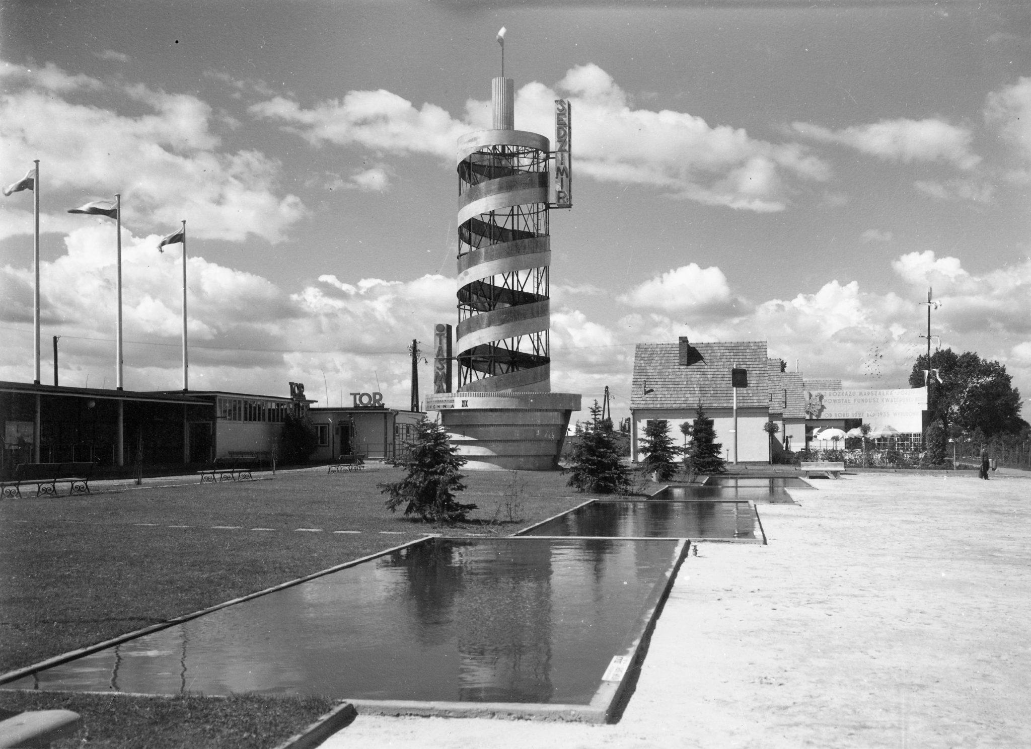 Koło wieża Hanka Warszawianka