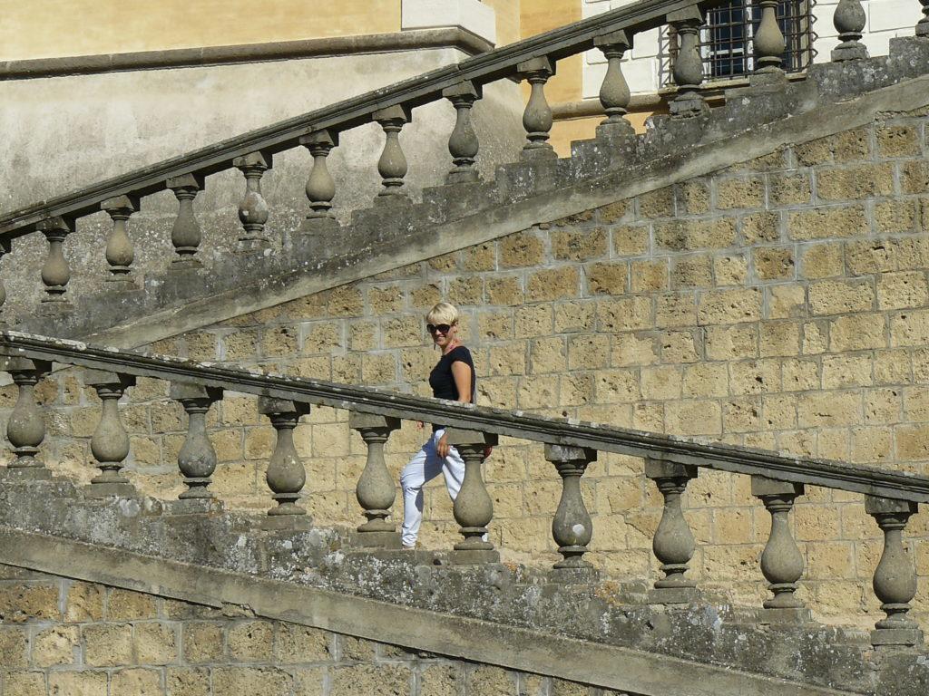 Hanka Warszawianka tego o mnie nie wiesz schody