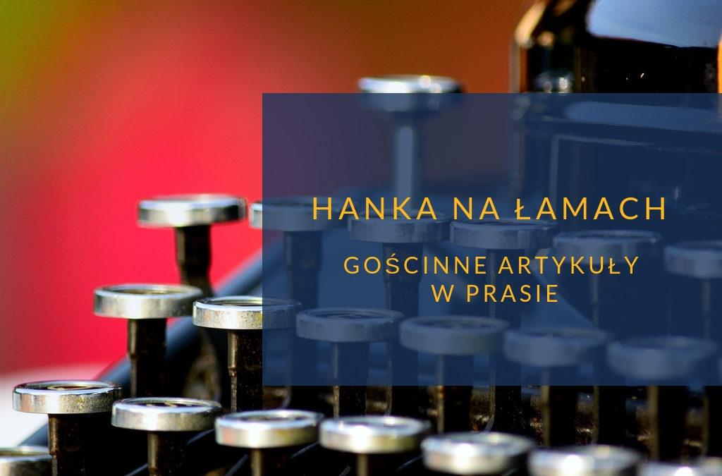 Hanka Warszawianka prasa