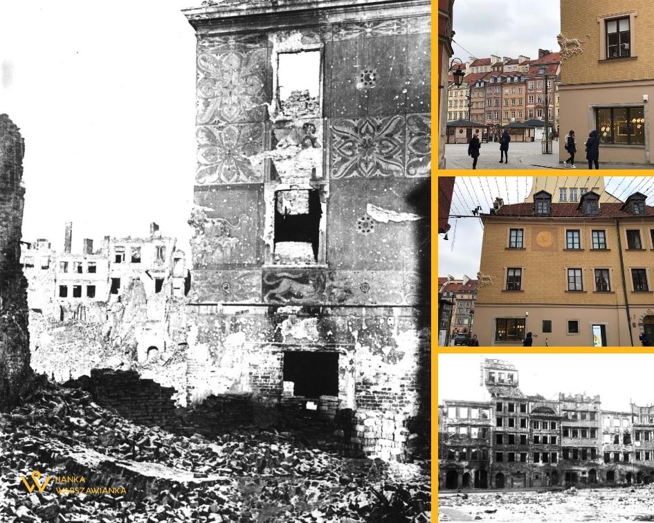 Warszawa powroty 1945 Stare Miasto