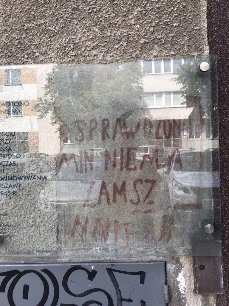 Warszawa powroty 1945 miny Hanka Warszawianka