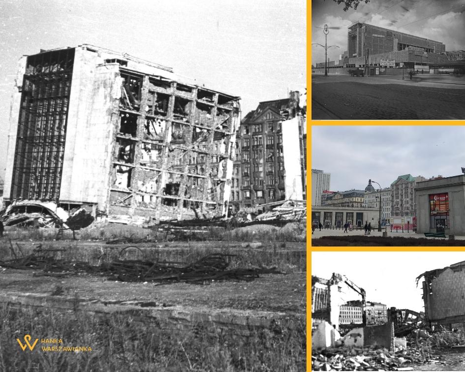 Warszawa powroty 1945 dworzec główny Hanka Warszawianka