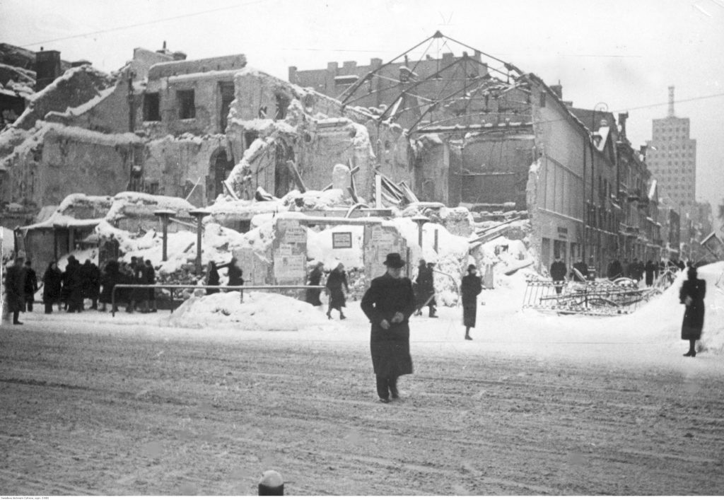 Powroty Warszawa 1945 Nowy Świat Hanka Warszawianka