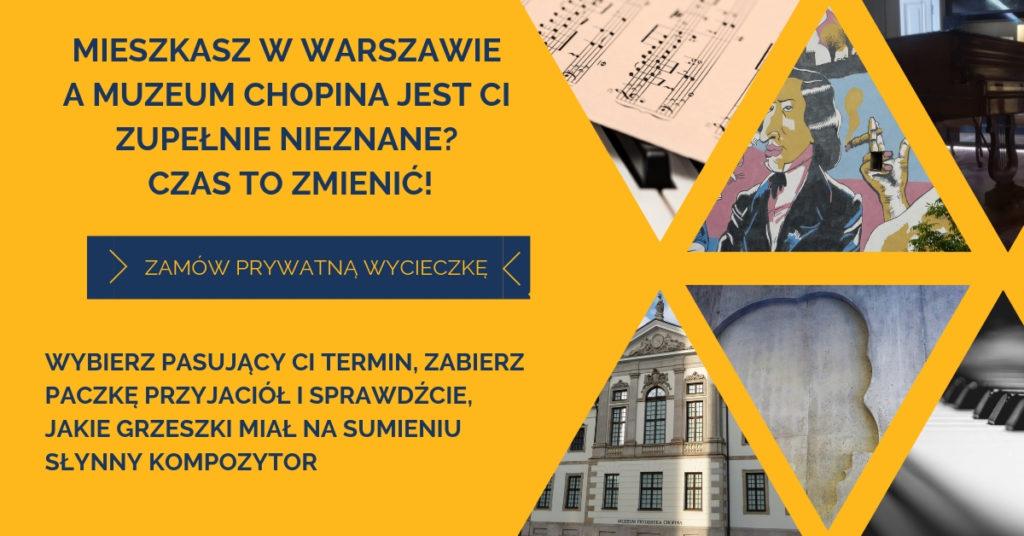 Muzeum Chopina baner Hanka Warszawianka