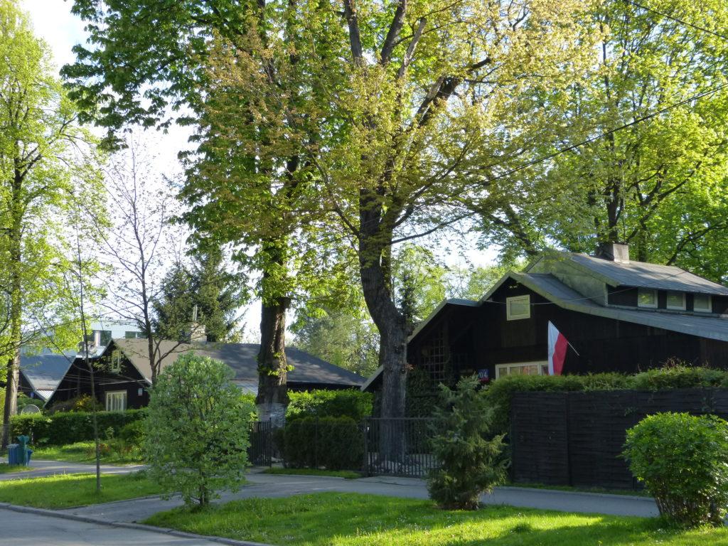 Powroty Warszawa 1945 domki fińskie Hanka Warszawianka