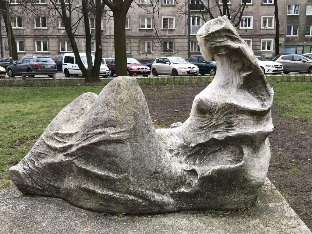 Wiosna Saska Kępa Hanka Warszawianka