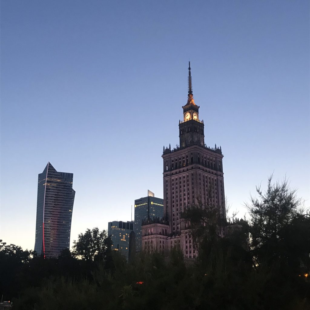 zegary Hanka Warszawianka palac kultury