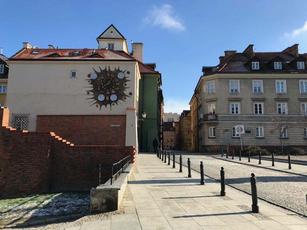 zegary warszawy zmiana czasu Hanka Warszawianka Piekarska