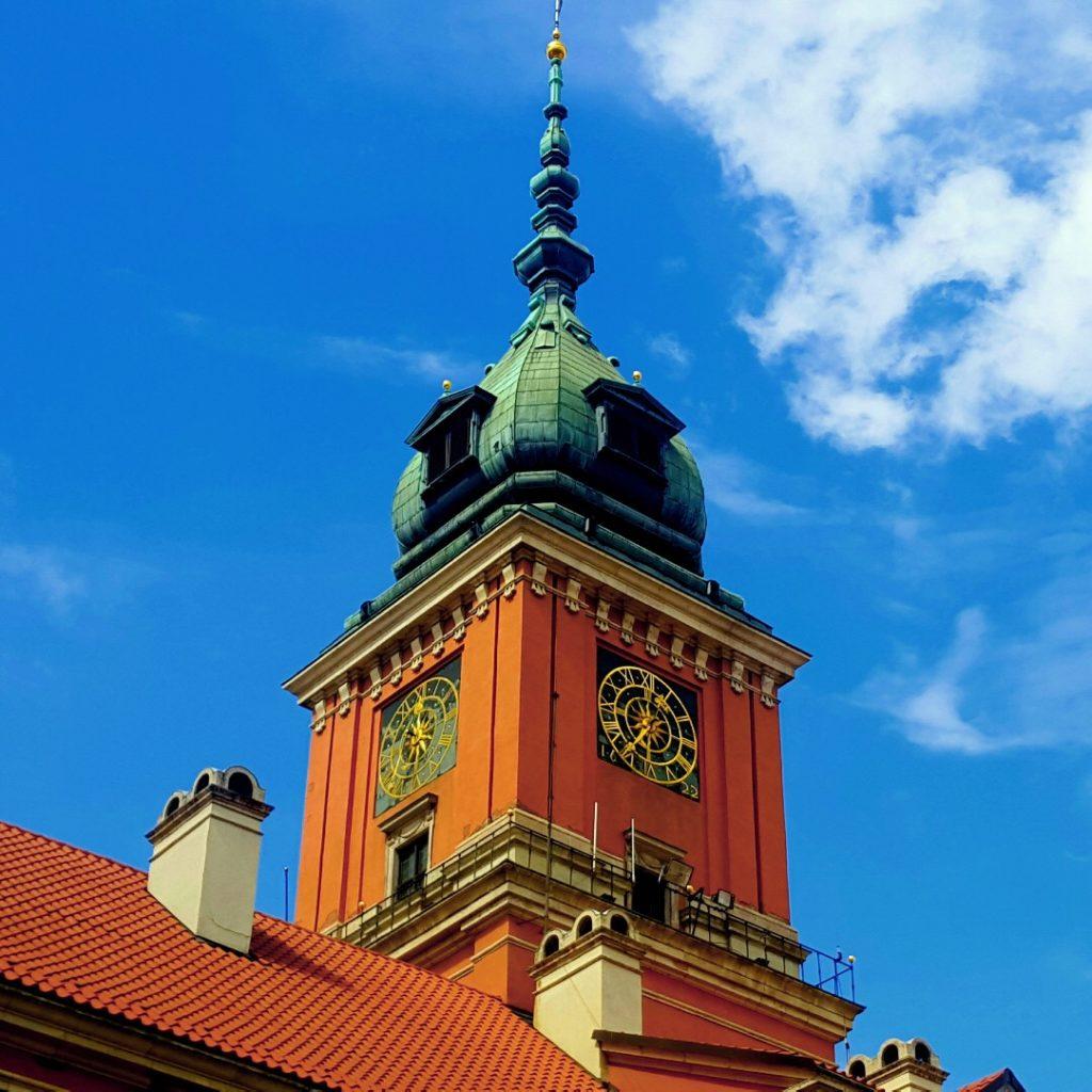 zmiana czasu Hanka Warszawianka zegar zamek krolewski