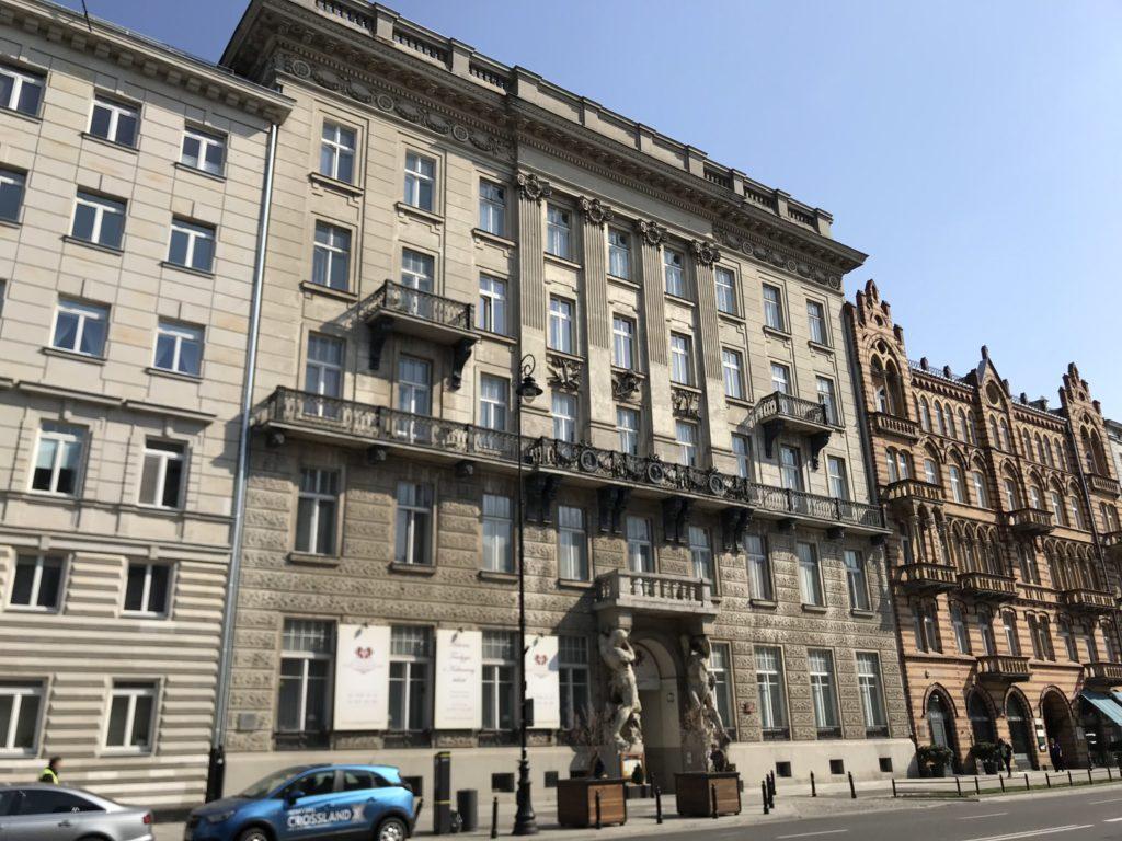 Ujazdowskie Hanka Warszawianka Dom pod gigantami (1)