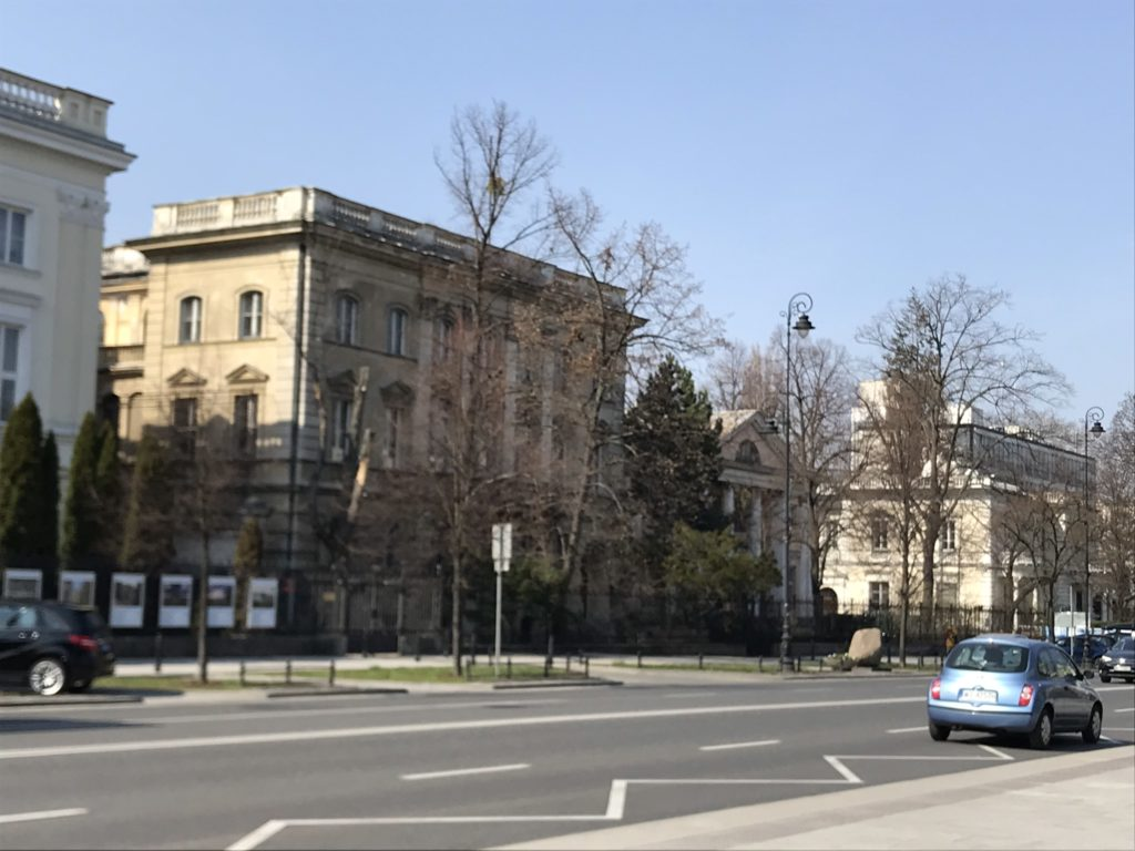 Ujazdowskie Hanka Warszawianka zamach na Kutscherę (1)