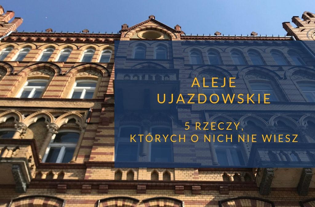 Aleje Ujazdowskie -zapraszamy na salony