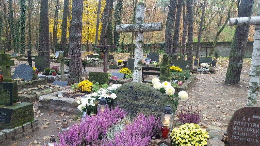 cmentarz warszawa hanka warszawianka laski