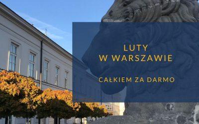 Luty w Warszawie bezpłatnie