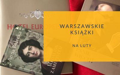 Warszawska książka na luty