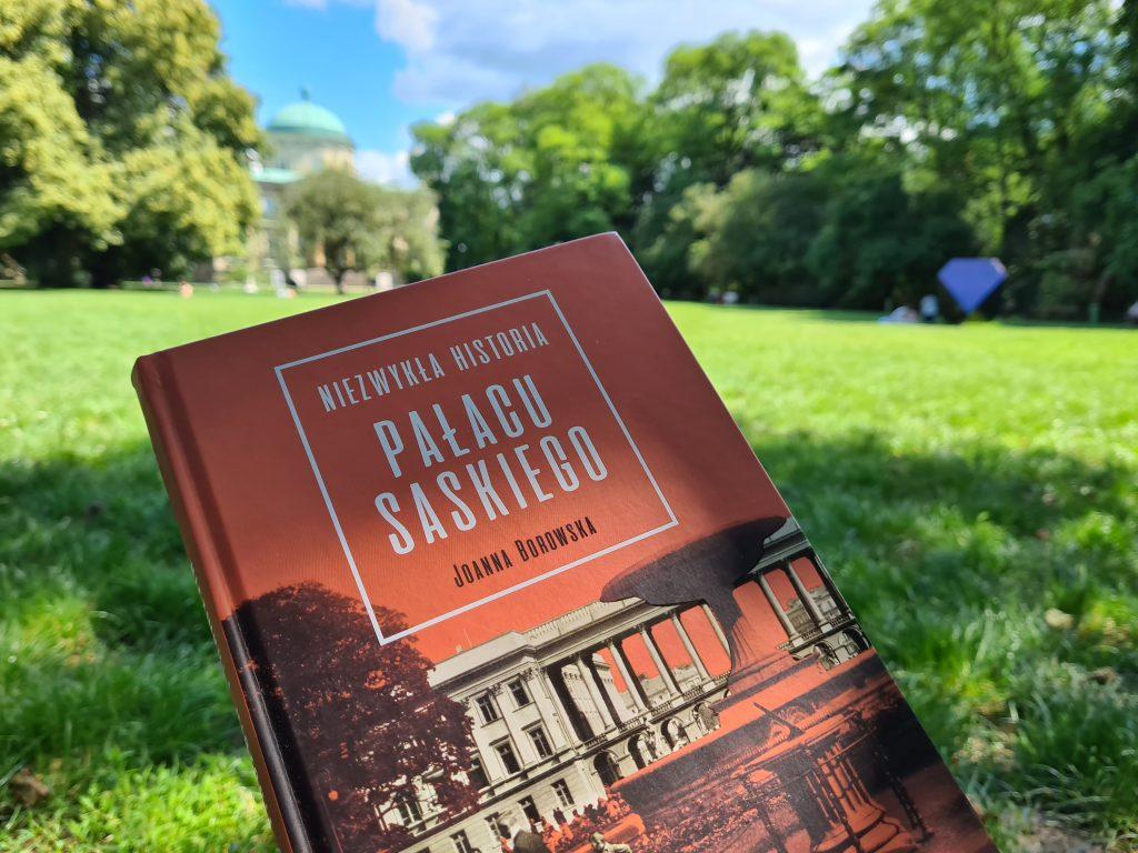 książki warszawskie pałac saski