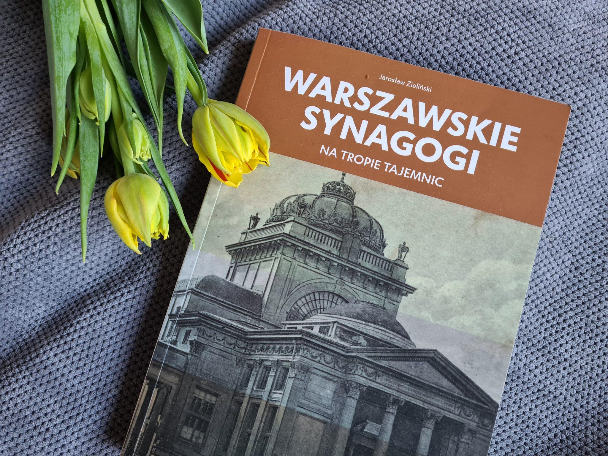 Książki na marzec_synagogi_Jarosław Zieliński